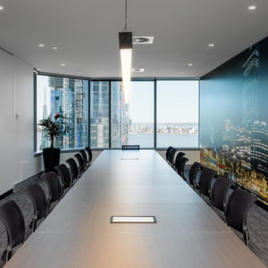 Perth City boardroom hire