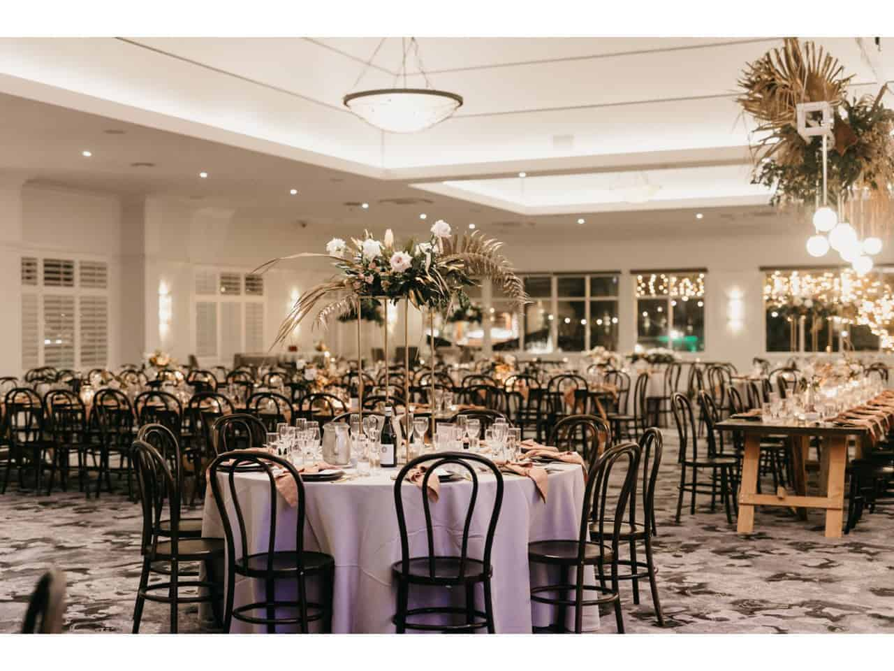 Large boho-inspired venue