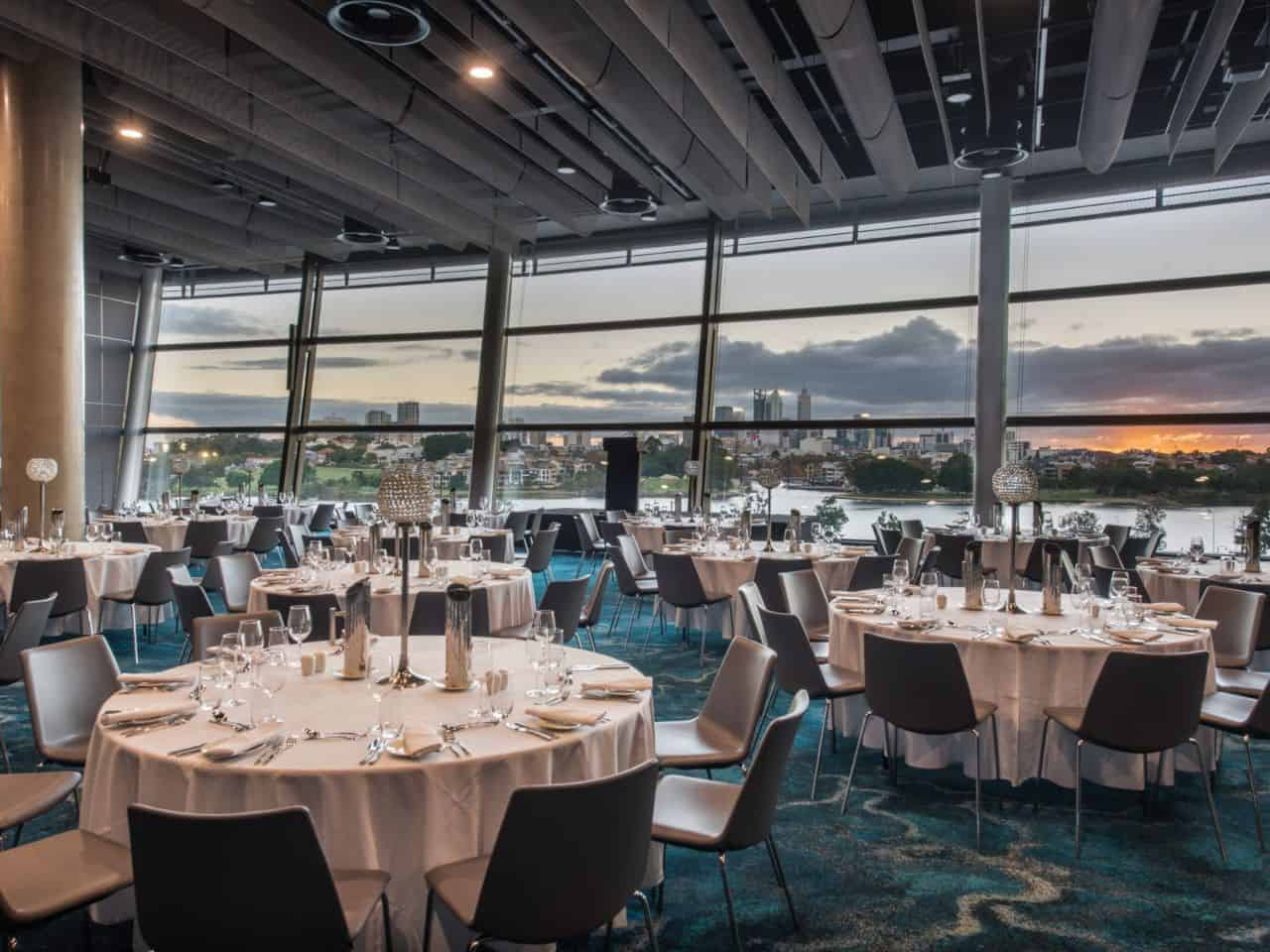 Optus Stadium function rooms