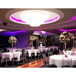 Large wedding space