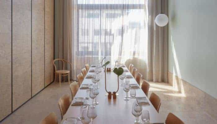 Brisbane hotel private dining room